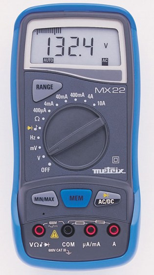 multimetre-mx22