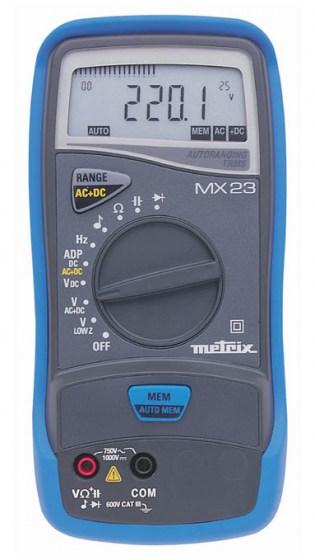 multimetre-mx23